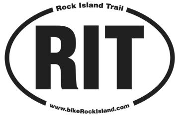 Rock Island Trail sticker